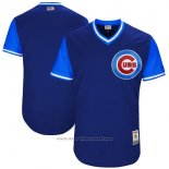 Maglia Baseball Uomo Chicago Cubs Players Weekend 2017 Personalizzate Blu