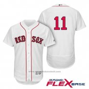 Maglia Baseball Uomo Boston Red Sox Rafael Devers Bianco Home Flex Base