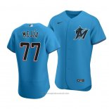 Maglia Baseball Uomo Miami Marlins Humberto Mejia Autentico Alternato 2020 Blu