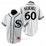 Maglia Baseball Uomo Chicago White Sox Dallas Keuchel 1990 Turn Back The Clock Bianco
