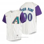 Maglia Baseball Bambino Arizona Diamondbacks Personalizzate Cooperstown Collection Alternato Crema