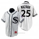 Maglia Baseball Uomo Chicago White Sox Nomar Mazara 1990 Turn Back The Clock Bianco