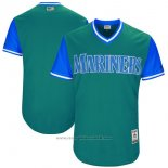 Maglia Baseball Uomo Seattle Mariners Players Weekend 2017 Personalizzate Verde