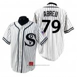 Maglia Baseball Uomo Chicago White Sox Jose Abreu 1990 Turn Back The Clock Bianco