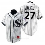 Maglia Baseball Uomo Chicago White Sox Lucas Giolito 1990 Turn Back The Clock Bianco