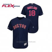 Maglia Baseball Uomo Boston Red Sox Mitch Moreland Autentico Flex Base Blu