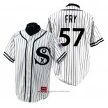 Maglia Baseball Uomo Chicago White Sox Jace Fry 1990 Turn Back The Clock Bianco
