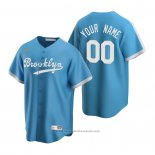 Maglia Baseball Uomo Los Angeles Dodgers Personalizzate Cooperstown Collection Alternato Blu