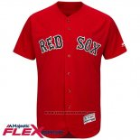 Maglia Baseball Uomo Boston Red Sox Blank Rosso Flex Base Autentico Collection