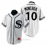 Maglia Baseball Uomo Chicago White Sox Yoan Moncada 1990 Turn Back The Clock Bianco