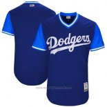 Maglia Baseball Uomo Los Angeles Dodgerss Players Weekend 2017 Personalizzate Blu