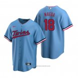 Maglia Baseball Uomo Minnesota Twins Kenta Maeda Replica Alternato Blu