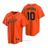 Maglia Baseball Uomo San Francisco Giants Evan Longoria Replica Alternato Arancione