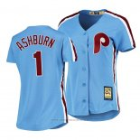 Maglia Baseball Donna Philadelphia Phillies Richie Ashburn Cooperstown Collection Road Blu