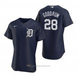 Maglia Baseball Uomo Detroit Tigers Niko Goodrum Autentico 2020 Alternato Blu