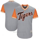 Maglia Baseball Uomo Detroit Tigers Players Weekend 2017 Personalizzate Grigio