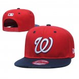 Cappellino Washington Nationals 9FIFTY Snapback Blu Rosso