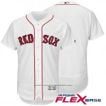 Maglia Baseball Uomo Boston Red Sox Bianco Autentico Collection Flex Base