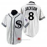 Maglia Baseball Uomo Chicago White Sox Bo Jackson 1990 Turn Back The Clock Bianco