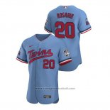 Maglia Baseball Uomo Minnesota Twins Eddie Rosario Autentico 2020 Alternato Blu