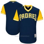 Maglia Baseball Uomo San Diego Padres Players Weekend 2017 Personalizzate Blu