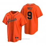 Maglia Baseball Uomo San Francisco Giants Brandon Belt Replica Alternato Arancione