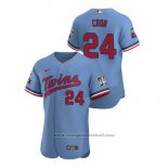 Maglia Baseball Uomo Minnesota Twins C.j. Cron Autentico 2020 Alternato Blu