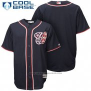 Maglia Baseball Uomo Washington Nationals Stars Stripes Cool Base Blu