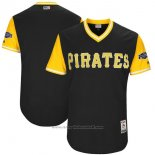 Maglia Baseball Uomo Pittsburgh Pirates Players Weekend 2017 Personalizzate Nero