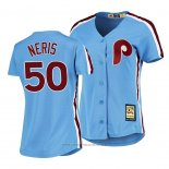 Maglia Baseball Donna Philadelphia Phillies Hector Neris Cooperstown Collection Road Blu