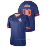 Maglia Baseball Uomo New York Mets Personalizzate Cooperstown Collection Legend Blu