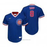Maglia Baseball Bambino Chicago Cubs Ian Happ Cooperstown Collection Road Blu