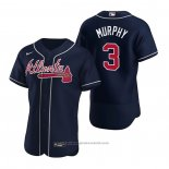 Maglia Baseball Uomo Atlanta Braves Dale Murphy Autentico Alternato 2020 Blu