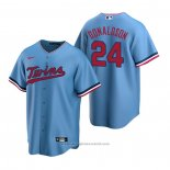 Maglia Baseball Uomo Minnesota Twins Josh Donaldson Replica Alternato Blu