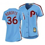 Maglia Baseball Donna Philadelphia Phillies Robin Roberts Cooperstown Collection Road Blu